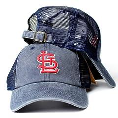 St. Louis Cardinals MLB American Needle Raglan Bones Soft Mesh Back Slouch Twill Cap... by American Needle