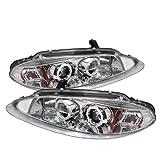 Spyder Auto Dodge Intrepid Chrome Halogen LED Projector Headlight