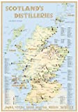 Scotland's Distilleries - Tasting Map 34x24cm: The scottish Whiskylandscape in Overview