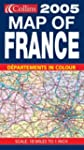 2005 Map of France (Road Map)