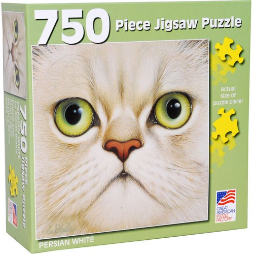 Great American Puzzle Factory Persian White 750 Piece Puzzle