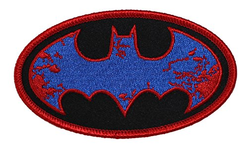 Application DC Comics Batman Splatter Logo Patch - 1