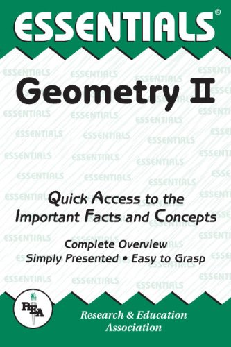 Geometry II Essentials (Essentials Study Guides) (Vol 2) PDF