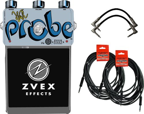 Zvex Vexter Wah Probe Effects Pedal W/4 Free Cables
