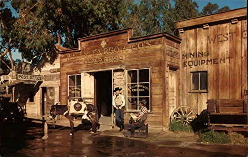 wells-fargo-cos-express-buena-park-california-original-vintage-postcard