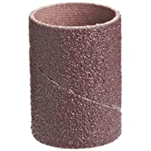 "3M Cloth Band 341D, 1"" Diameter x 1-1/2"" Width, 60 Grit, Brown (Pack of 100)"