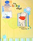 Disney Winnie The Pooh My Baby days Every day is a Happy Day! Baby Memory Book for Baby's first Year