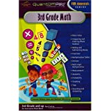 Quantum Pad Learning System: Third Grade Math Interactive Book and Cartridge ~ LeapFrog Enterprises