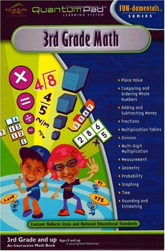 Quantum Pad Learning System: Third Grade Math Interactive Book and Cartridge - 1