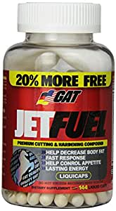 GAT JETFUEL, Cutting & Hardening Compound, 144 Liqui-­Caps/48 Servings