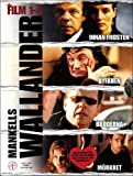 Wallander Series 1-4 - 4-DVD Box Set ( Innan frosten / Byfånen / Bröderna /Mörkret ) ( Wallander 1 - Before The Frost / Wallander 2 - The Village Idiot / Wallander 3 - Brothers / Wallander 4 - The Darkness )