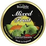 Bramble House Mixed Fruit Travel Sweets 200 g (Pack of 12)