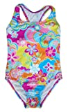 Speedo Girls 5-14 Tropical Splash Splice One Piece Swimsuit (14)