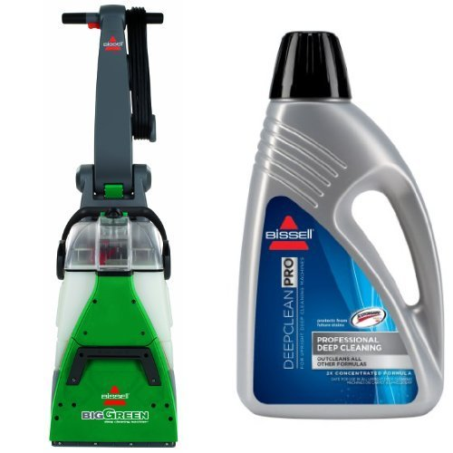 Professional Deep Cleaning Bundle - Big Green + Deep Clean Pro 2X Deep Cleaning Formula, 48 oz (Bissell 2x Deep Cleaning Formula compare prices)