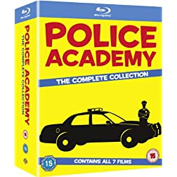 Police Academy 1-7-The Complete Collection [Blu-ray]