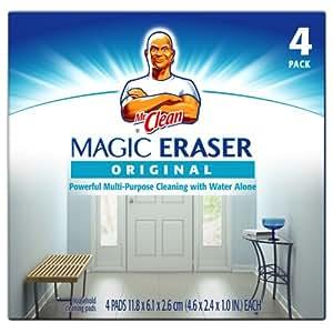 Mr. Clean Original Erase and Renew Magic Eraser, 4-Count (Pack of 6)