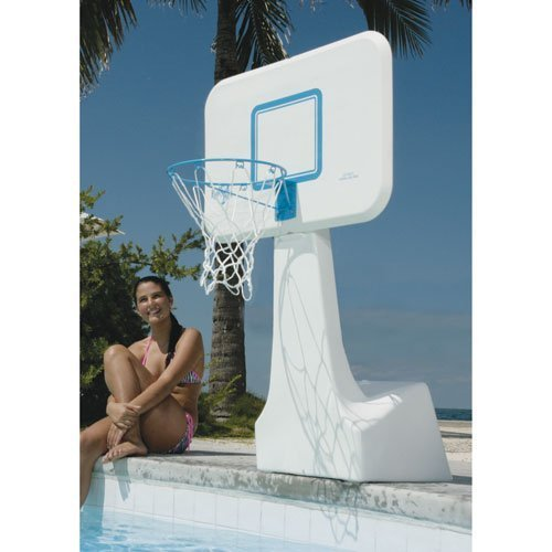 Dunnrite PoolSport Swimming Pool Basketball Hoop with Stainless Steel Rim by Dunnrite Products günstig online kaufen