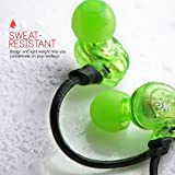 MEElectronics Sport-Fi® M3P In-Ear Headphones with Memory Wire and Inline Microphone and Remote (Green)