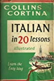 img - for Collins Cortina, Italian in 20 Lessons, Illustrated book / textbook / text book