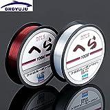 Generic White, 6.0 : DNDYUJU New Style 100m Sea Fishing Lin Wear Resisting Lure Nylon Fishing Line Wine Red Transpat...