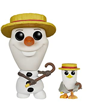 Funko - Pop Collection - Reine des neiges - Olaf Barbershop Quartet - 0849803056247