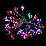 Vakind® 5M 20LED Star Moon String Lamp Crystal Light Festival Christmas Party Decor