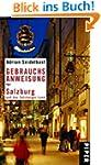 Gebrauchsanweisung f�r Salzburg und d...