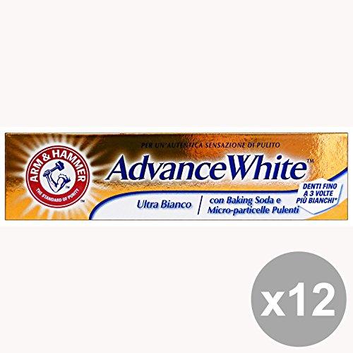 set-12-arm-hammer-dentifricio-advance-white-ultra-bianco-75-ml-prodotti-per-denti-e-viso