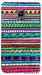 PrintVisa Pattern Abstract Art Case Cover for Samsung Galaxy Note Edge
