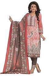 Gugaliya Women's 100 % Cotton UNSTICHED Salwar, Kameez & Dupatta Suit (SJ- 3126)