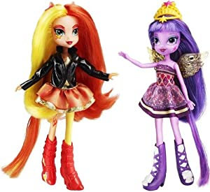 Hasbro A3997E24 - My Little Pony Equestria Girls Puppen, Doppelpack