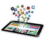 Android 4.4.2 KITKAT - 9 pollici Tablet PC con Bluetooth Connettività - Quad Core - 8GB espandibile fino a 32GB - Dual Camera da Time2