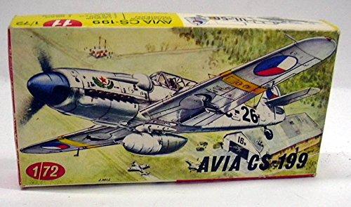 avia-cs-199-kp-plastikovy-1-72-scale-unbuilt-model-kit-11-in-original-box-1960s