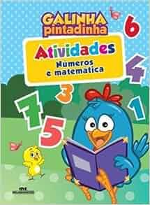 Galinha Pintadinha. Atividades. Números e Matemática (Em Portuguese