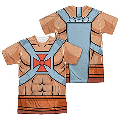Masters Of The Universe He Man Costume All Over Print Front / Back T-Shirt