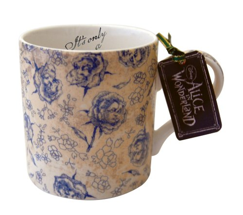 Disney Alice In Wonderland Roses Mug, Fine China