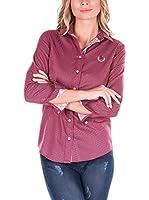 SIR RAYMOND TAILOR Camisa Mujer (Burdeos)