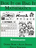 img - for Box It Or Bag It Mathematics (Teachers Resource Guide, Kindergarten) book / textbook / text book