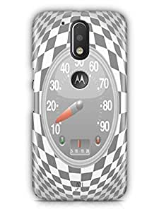 YuBingo Speedometer Mobile Case Back Cover for Motorola G4