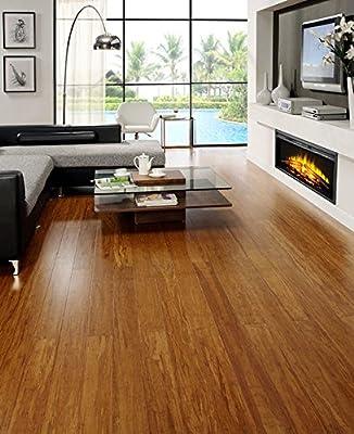 Strand Woven Bamboo Caramel Solid Plank Floor (Sample)