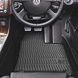 Volkswagen VW Passat 2005-07 Tailored Rubber Car Mats Oval Clips