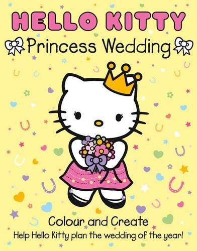 Hello Kitty - Hello Kitty Princess Wedding Colour and Create