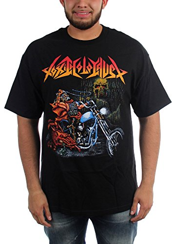 Toxic Holocaust-Ride Like Hell-Maglietta da uomo Nero  nero