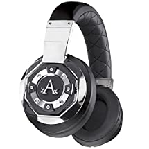A-Audio A21 Icon Wireless Over-Ear Headphones, Liquid Chrome