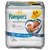 Pampers Sensitive Refill Pack Giga 12 x Packs of 56 (1344 Wipes)
