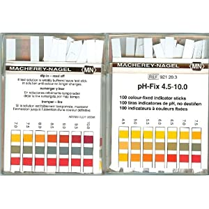 4.5-10.0 pH indicator strips 100/box: Amazon.com