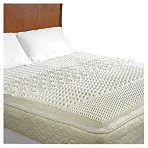 Amazon Memory Foam Mattress Pad Bed Topper Pure Rest