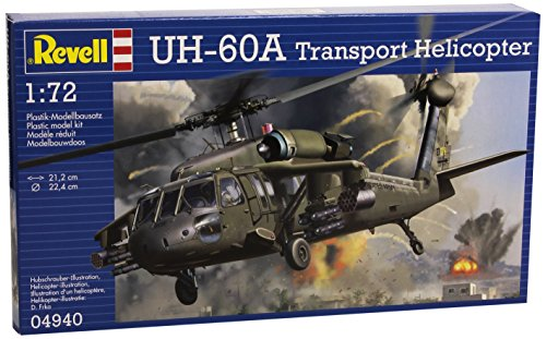 Revell Germany UH-60A Transport Helicopter Model Kit (1:72 Scale) (Details Us March 2015 compare prices)