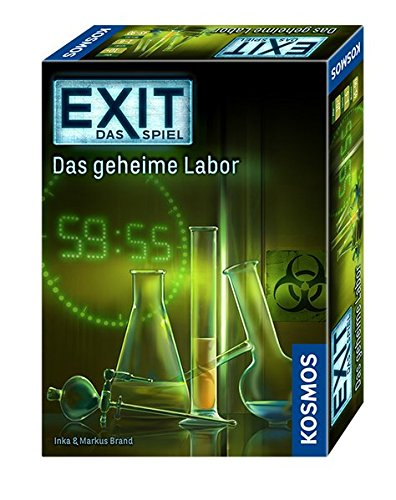 KOSMOS Games 692742 - Exit - The Game, The secret Labor