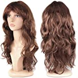 Women's Sexy Long Wave Curly Fancy Dress Wigs Cospl